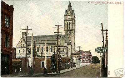 Holyoke City Hall & RR Crossing