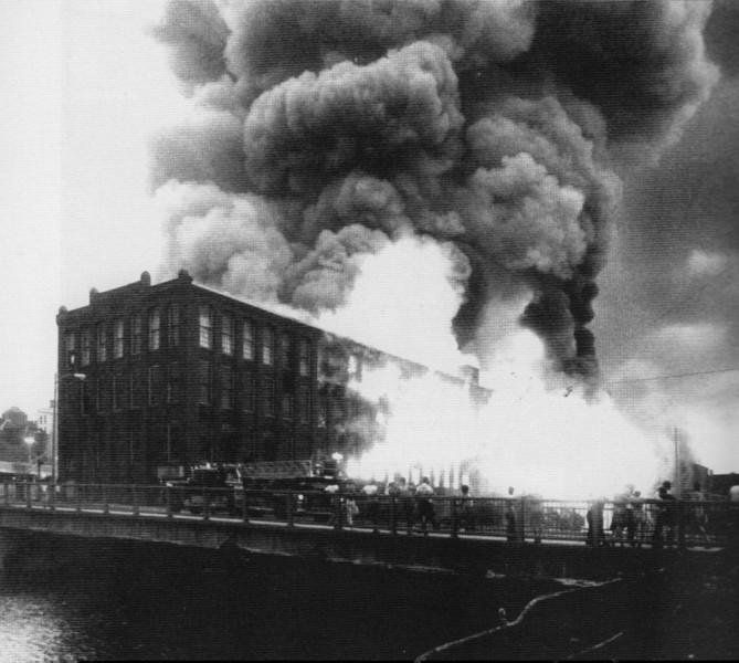 Holyoke Skinner Fire 1980