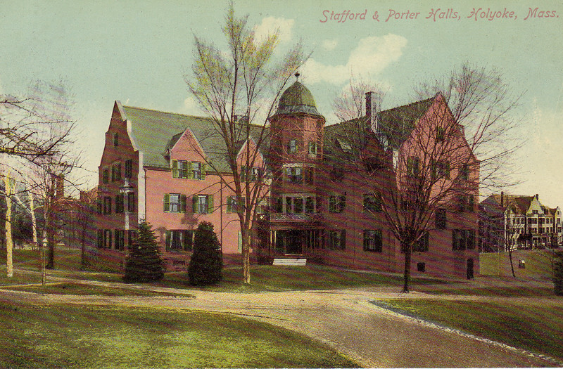 Holyoke Stafford and Porter Halls