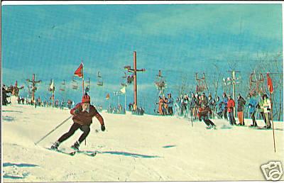 Holyoke Mt Tom Skier