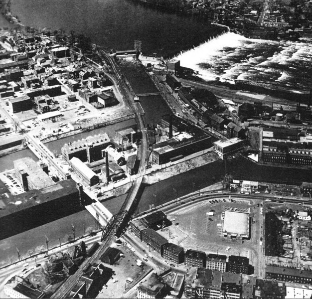Holyoke 1950's Aerial view