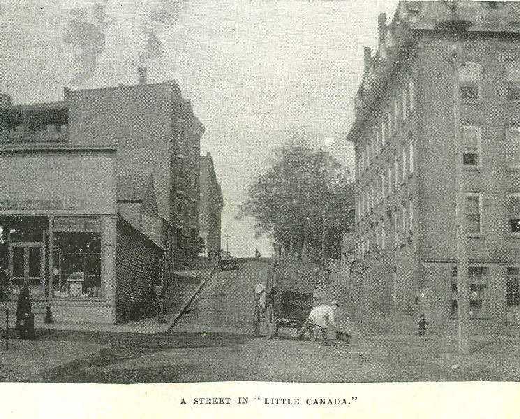 Holyoke St in Little Canada