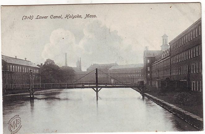 Holyoke lower Canal
