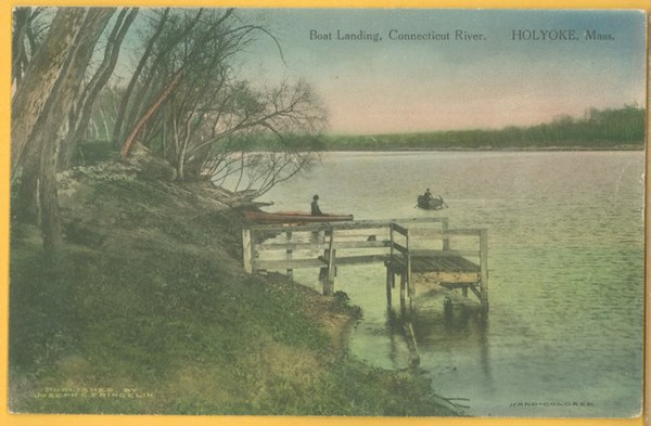 Holyoke Boat Landing on Conn River
