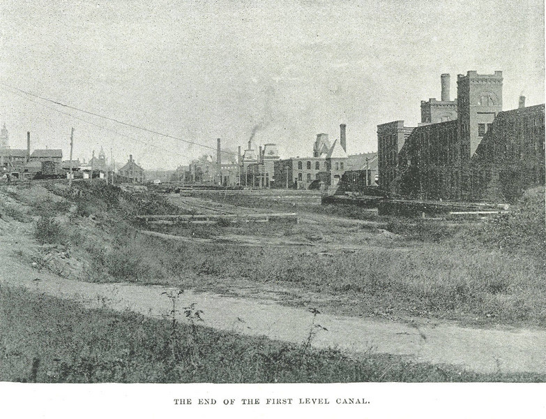 Holyoke End First level Canal