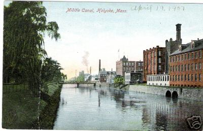 Holyoke Middle canal