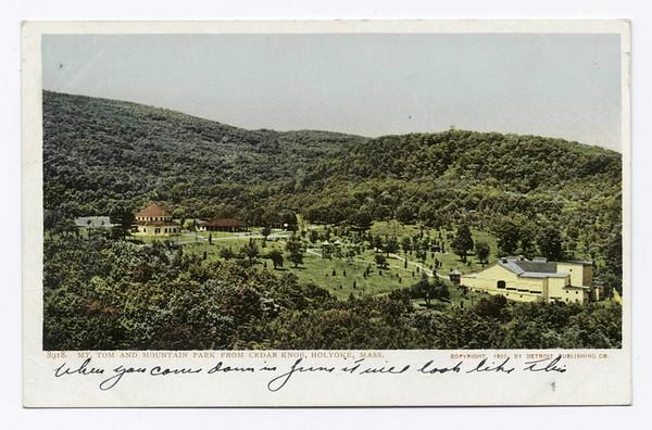 Holyoke Mt Park from Cedar Knob