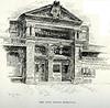 Holyoke Post Office Entrance