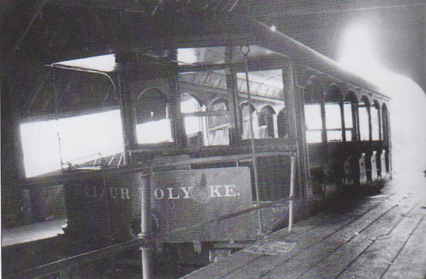 Holyoke M P Dismantling Cable Cars