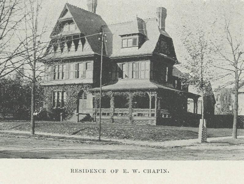 Holyoke Chapin Residence