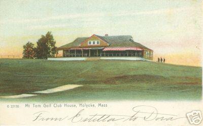 Holyoke Mt Tom Golf Club House