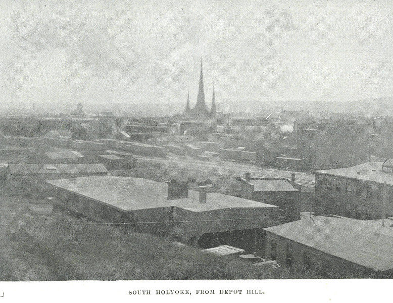 Holyoke So from Depot Hill