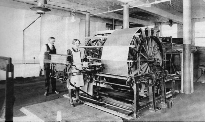 Holyoke Skinner Warping Machine