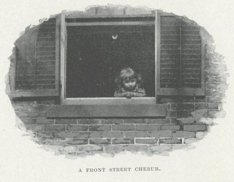 Holyoke Front St Cherub
