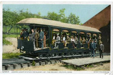 Holyoke Mt Tom rr car