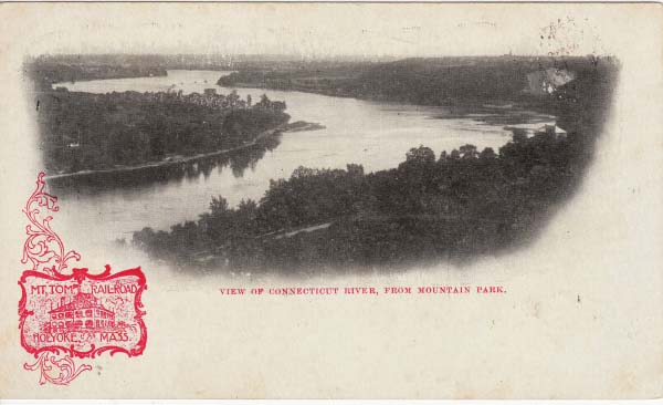 Holyoke View of River Mt Park
