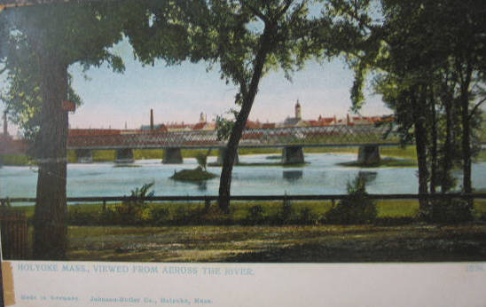 Holyoke View from across river