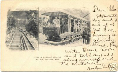 Holyoke Mt Tom Railway views