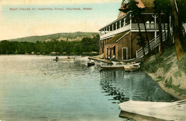 Holyoke Hampton Pond Boathouse