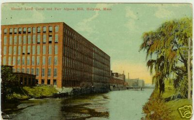 Holyoke Second Canal Farr Mill