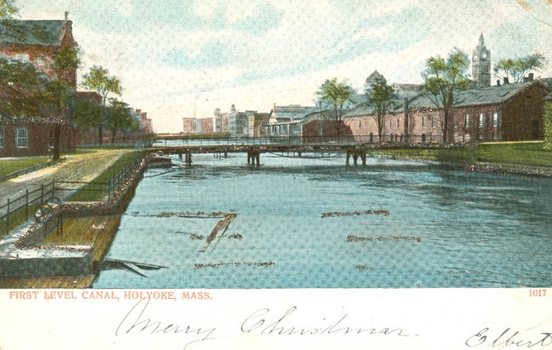 Holyoke First Level Canal 1906