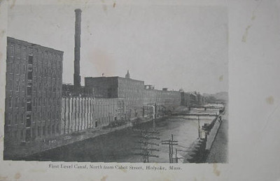 Holyoke First level Canal