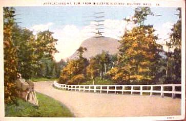 Holyoke Approaching Mt Tom