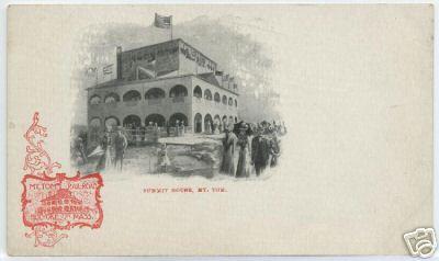 Holyoke 1899 First Summit House