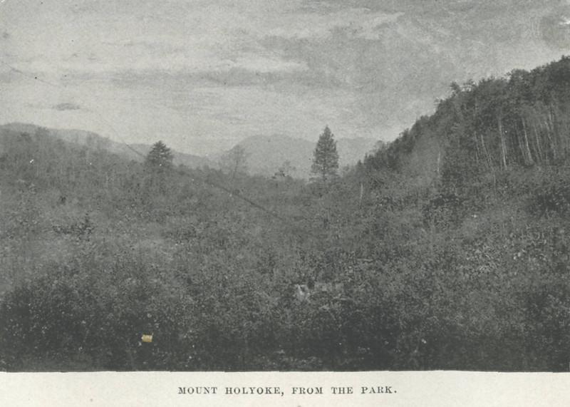 Holyoke Mt Holyoke from Park