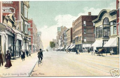 Holyoke High St looking South