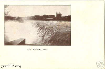 Holyoke Real Photo Dam