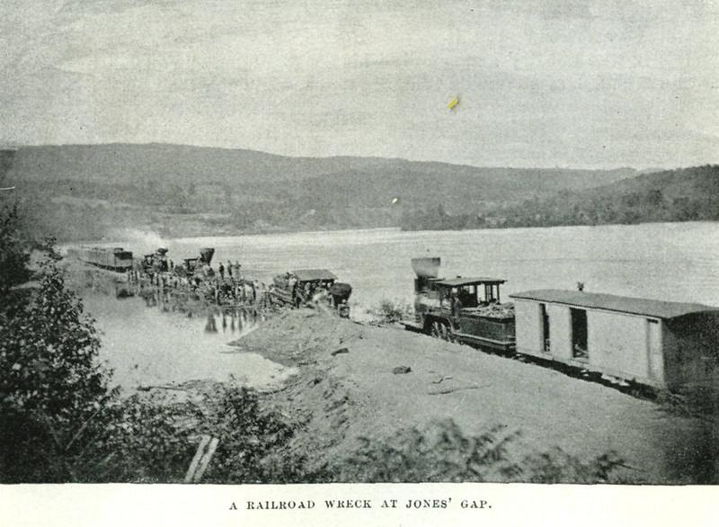 Holyoke RR Wreck Jones Gap
