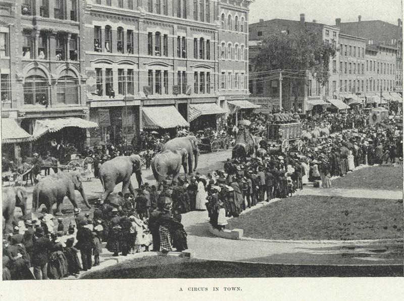 Holyoke Circus in Town