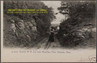 Holyoke Mt Tom RR Cut