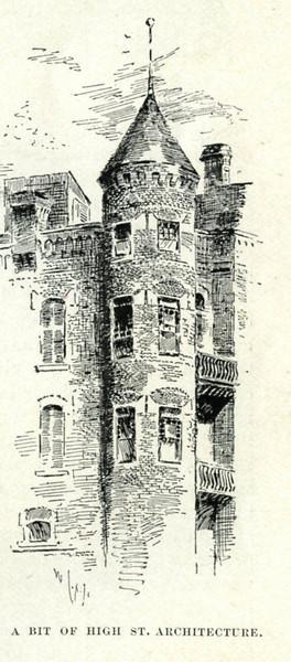 Holyoke High St Architecture