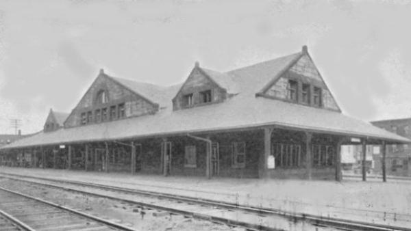 Holyoke RR Station