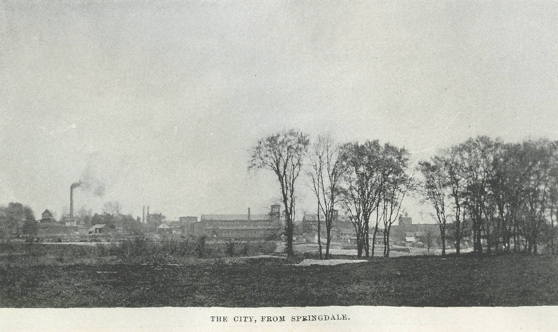 Holyoke City from Springdale