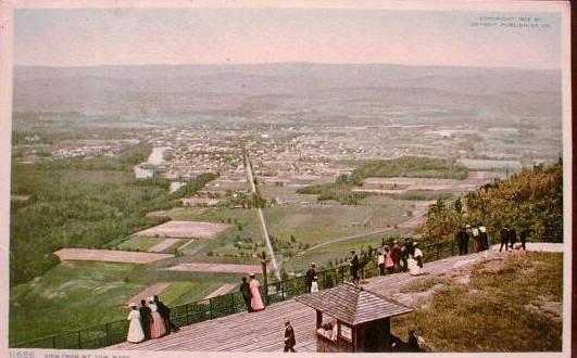 Holyoke Easthampton from Mt Tom 4