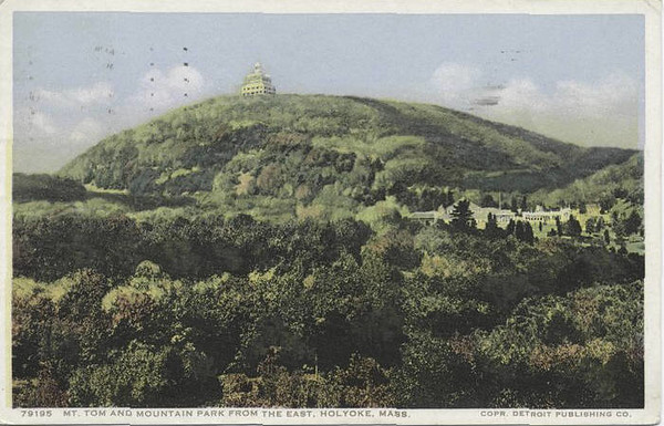 Holyoke Mt Tom from East
