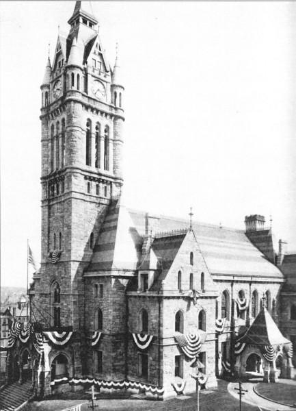 Holyoke City Hall 1876