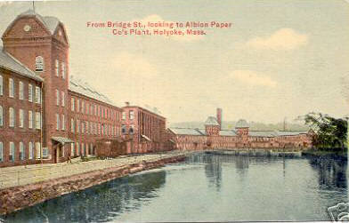 Holyoke Albion Paper Co Plant