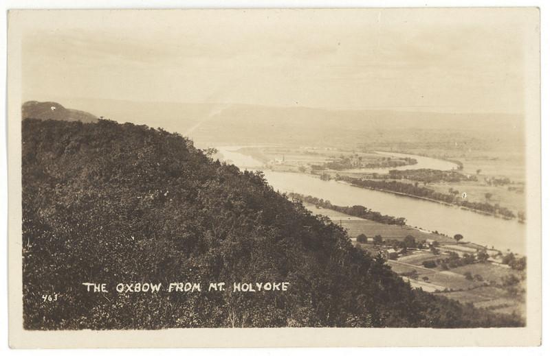 Holyoke Oxbow from Mt Holyoke