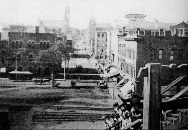 Holyoke 1891 with new Trolleys