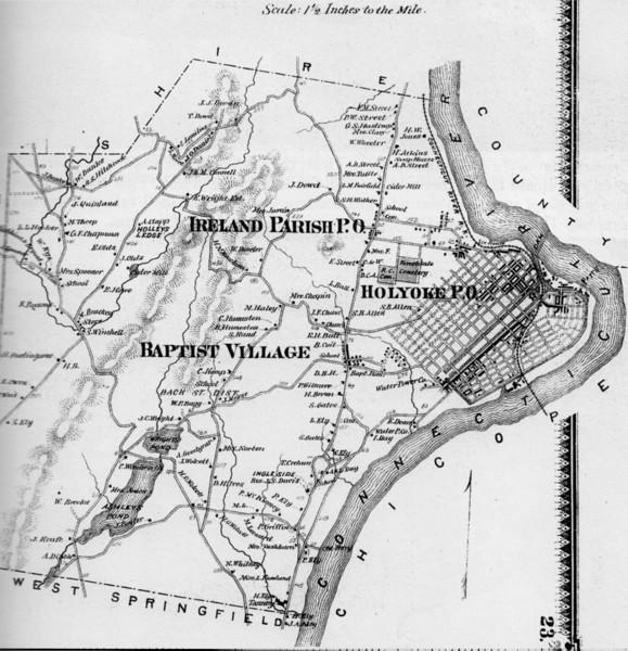 Holyoke Map of City