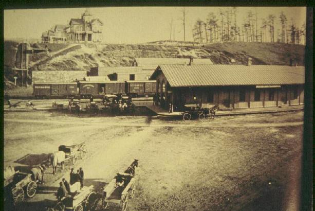 Holyoke Old Train Station on Main St