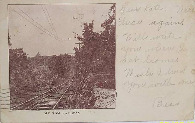 Holyoke Mt Tom Railway 1905