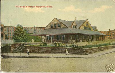 Holyoke RR Station 7