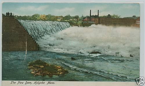 Holyoke New Dam 1912