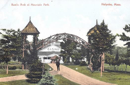 Holyoke Rustic Arch Mt Park
