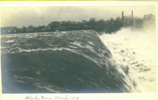 Holyoke RPPC High Water over Dam